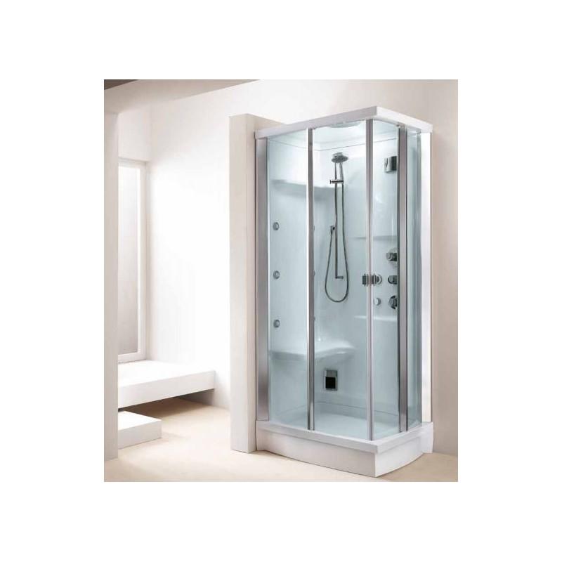 Box doccia TEUCO multifunzione rubinetteria miscelatore monocom L02M