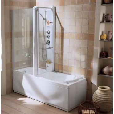 vasca idromassaggio teuco 270m multi combinata cabina doccia parete sx