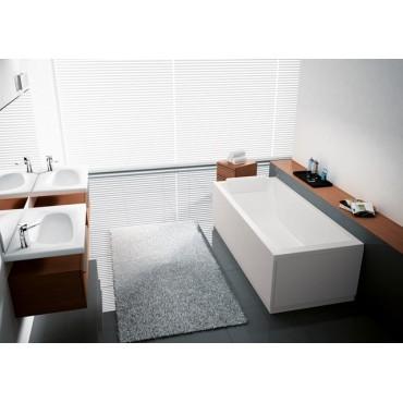 Pavimento interno gres Just Nature Ceramiche Gardenia Grigio 30X120