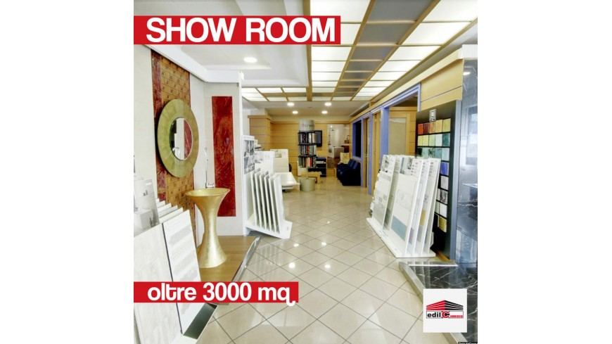 Showroom di 3000 mq